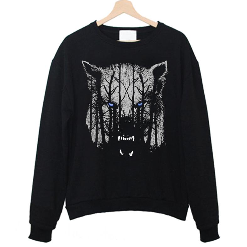 White Wolf Sweatshirt FD4F0