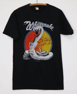 Whitesnake Slide It In Tshirt Fd5F0