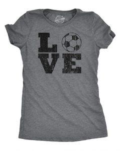 Womens Love Soccer Tshirt FD27F0
