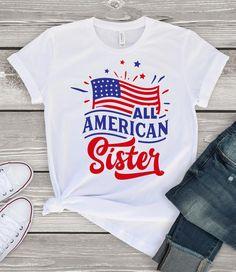 All American Sisters Tshirt LE10M0
