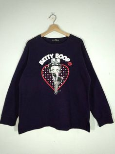 Betty Boob Sweatshirt LE19M0
