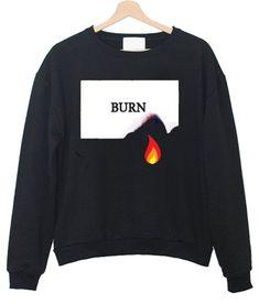 Burn Fire Sweatshirt LE19M0