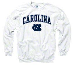 Carolina White Sweatshirt DF24M0