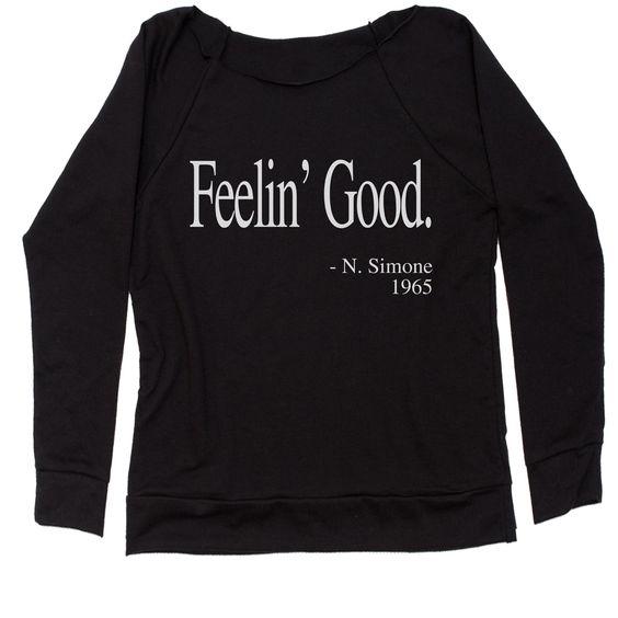 Feelin Good Sweatshirt DF24M0