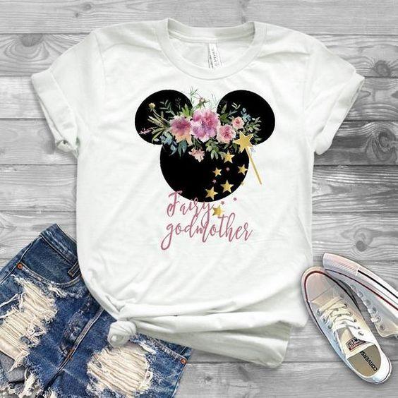 disney fairy godmother shirt ZR13M0
