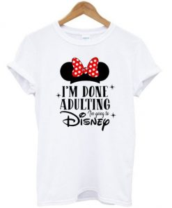 Adulting Disney T Shirt AN2A0