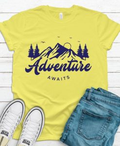 Adventure Awaits T Shirt AN13A0