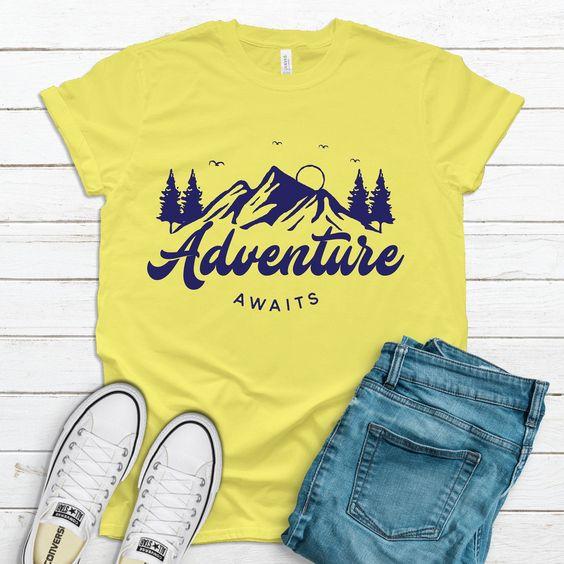 Adventure Awaits T Shirt AN13A0