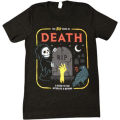'Book of Death' T Shirt AF4M0