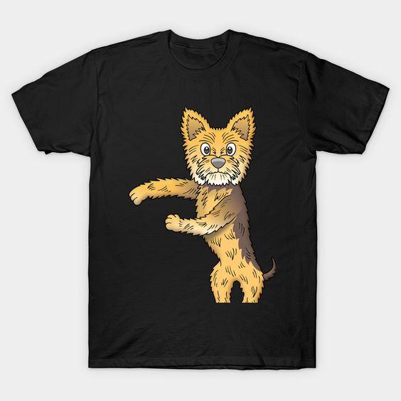 Dance yorkshire terrier T-Shirt AF4M0