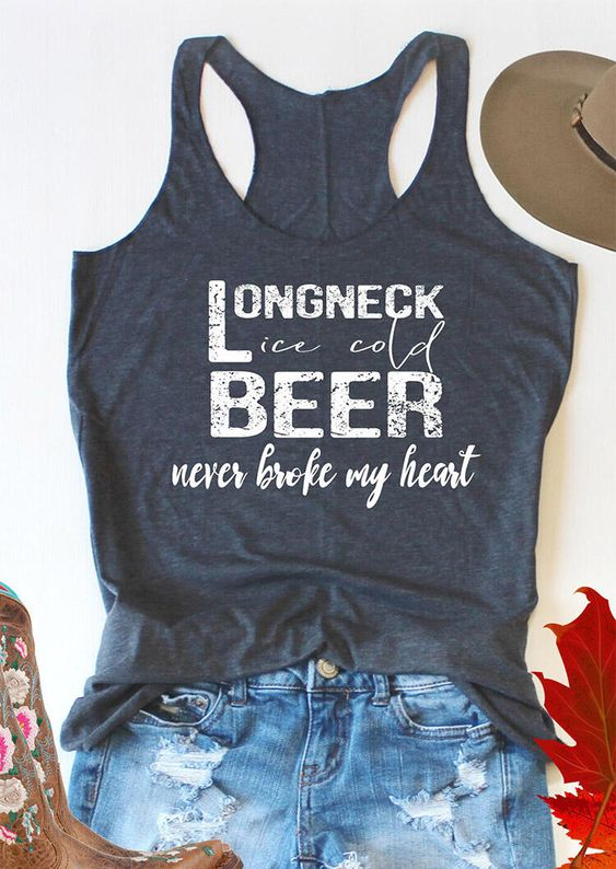Long Neck Beer Tank top Tank top AN2A0