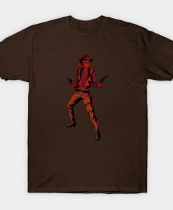Wild West Deadpool T Shirt AF3A0