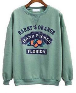Barry's orange sweatshirt AL24JN0