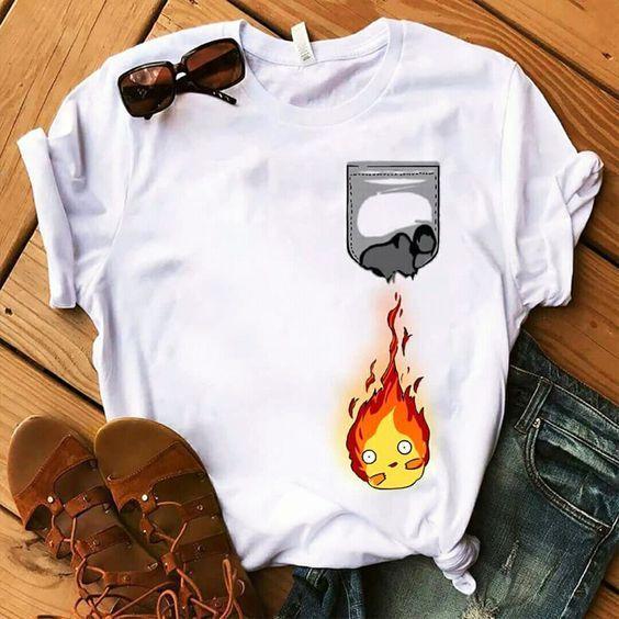 Fire pocket T Shirt AL16JL0