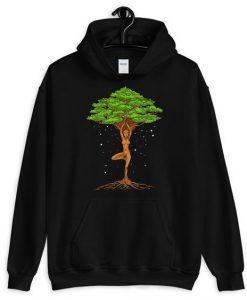 Tree yoga Hoodie AL6JL0