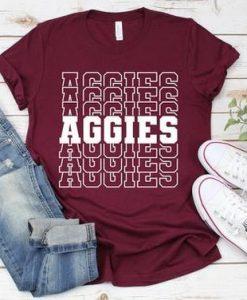 Aggies school mascot T Shirt AL4AG0