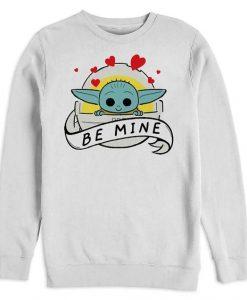 Be Mine Yoda Sweatshirt AL12AG0