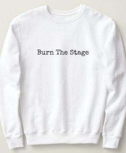 Burn The Stage Sweatshirt AL12AG0