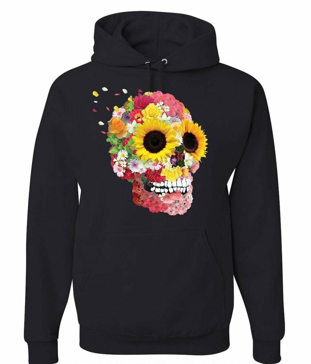 Sunflower Skull Hoodie AL29AG0