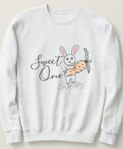 Sweet One Little Rabbit Sweatshirt AL12AG0
