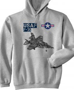 Usaf F 35 Hoodie AL29AG0