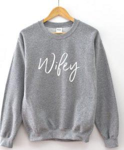 Wifey Sweatshirt AL12AG0