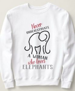 Woman Elephan Sweatshirt AL12AG0