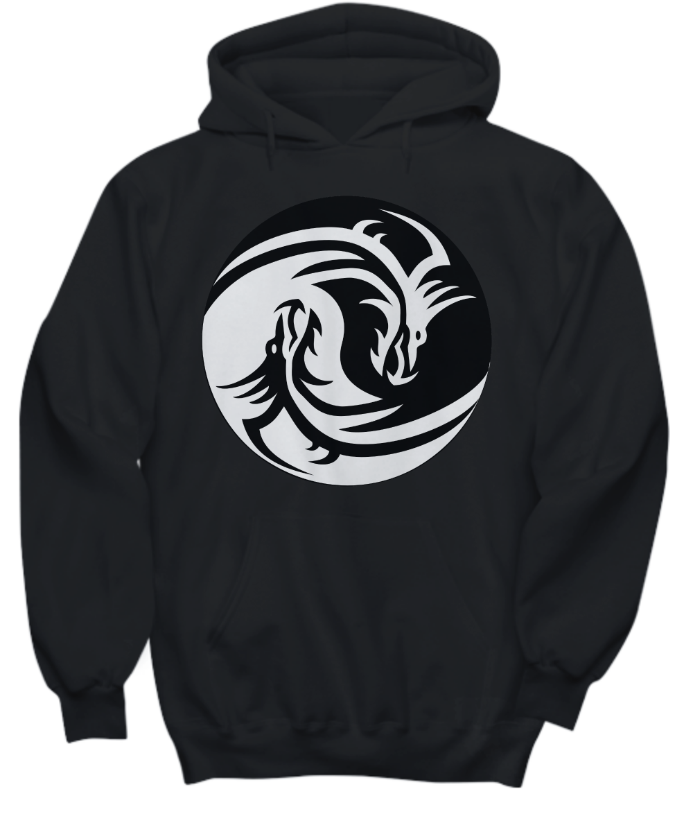 Yin-Yang Dragon Hoodie AL29AG0