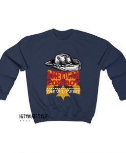 American-Coboy-Vintage-retro-design-Sweatshirt EL21D0