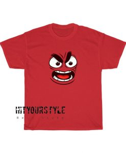 Angry Face Emote Tshirt SC31D0