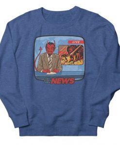 Breaking News Sweatshirt AG20F1