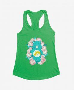 Care Bears Wish Bear Floral Girls Tanktop AL10F1