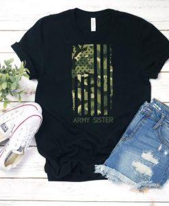 Army Sister Flag T-Shirt AL8MA1