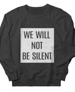 Be Silent Sweatshirt SR6MA1