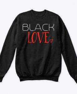Black love Sweatshirt SR6MA1