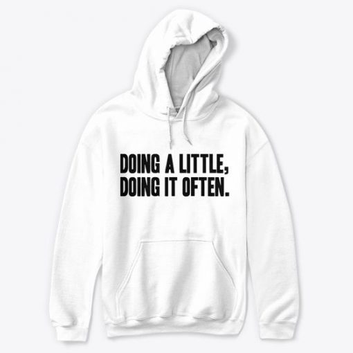 Doing A Little Hoodie SD9MA1