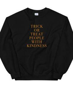 Trick Or Treat People Sweatshirt AL31MA1