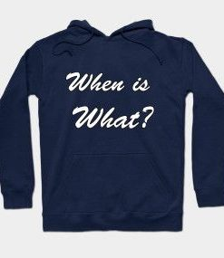 When is what hoodie TJ5MA1