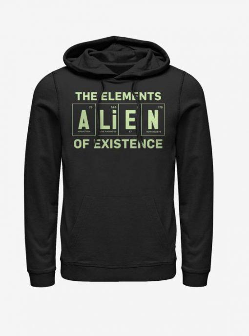 Alien Existence Element Hoodie UL7A1
