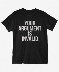 Argument Invalid T-Shirt IM14A1