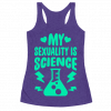 My Sexuality Is Science Tanktop AL12A1