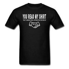 You Read T-Shirt UL7A1
