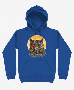 Zombie Blood Owl Hoodie SD29A1
